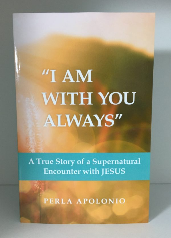 """I Am with You Always"" book - front cover"